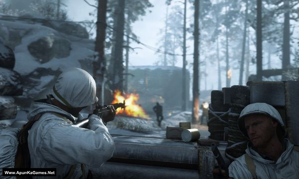 Call of Duty: WWII Screenshot 1, Full Version, PC Game, Download Free