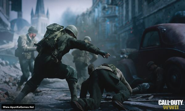 Call of Duty: WWII Screenshot 2, Full Version, PC Game, Download Free