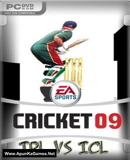 EA Sports Cricket 2009 IPL vs ICL Cover, Poster, Full Version, PC Game, Download Free