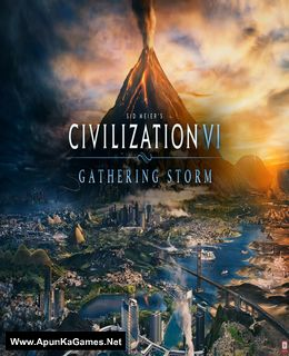 Civilization VI: Gathering Storm Cover, Poster, Full Version, PC Game, Download Free
