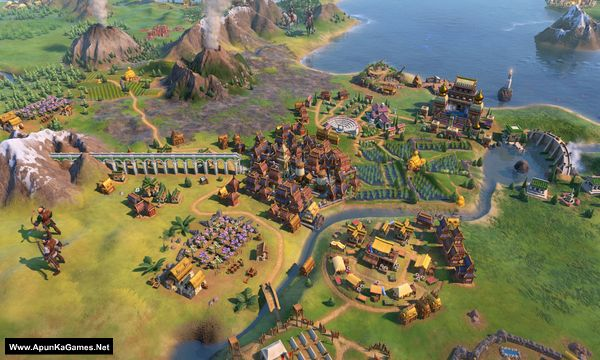 Civilization VI: Gathering Storm Screenshot 2, Full Version, PC Game, Download Free