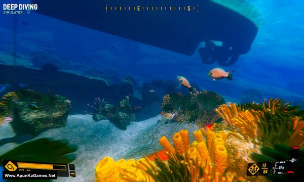 Deep Diving Simulator Screenshot 2, Full Version, PC Game, Download Free