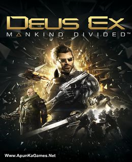 Deus Ex: Mankind Divided Cover, Poster, Full Version, PC Game, Download Free