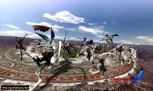 Devil May Cry 4 Screenshot 1, Full Version, PC Game, Download Free