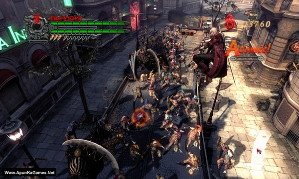 Devil May Cry 4 Screenshot 2, Full Version, PC Game, Download Free