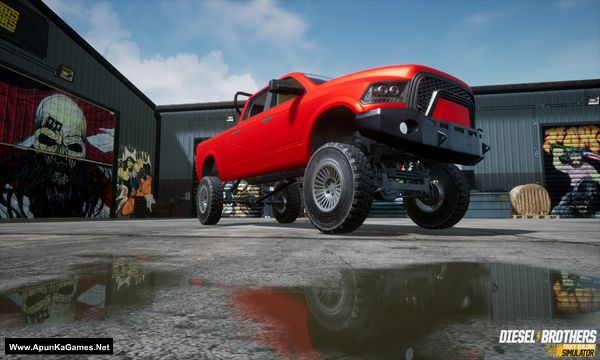 Diesel Brothers: Truck Building Simulator Screenshot 1, Full Version, PC Game, Download Free