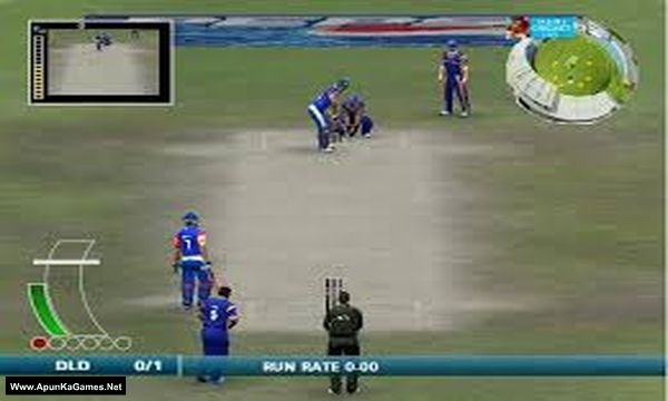 EA Sports Cricket 2009 IPL vs ICL Screenshot 1, Full Version, PC Game, Download Free