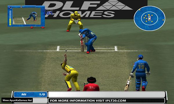 EA Sports Cricket 2009 IPL vs ICL Screenshot 3, Full Version, PC Game, Download Free