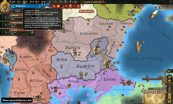Europa Universalis III: Divine Wind Screenshot 2, Full Version, PC Game, Download Free