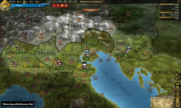 Europa Universalis III: Divine Wind Screenshot 3, Full Version, PC Game, Download Free