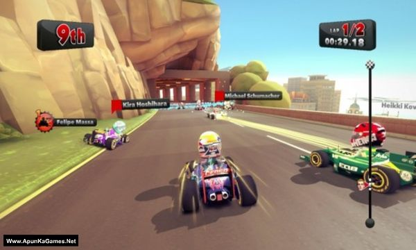 F1 Race Stars Screenshot 1, Full Version, PC Game, Download Free