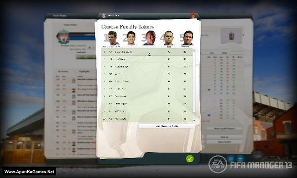 Fifa Manager 13 Screenshot 2, Full Version, PC Game, Download Free