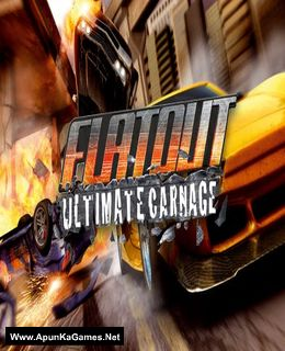 FlatOut: Ultimate Carnage Cover, Poster, Full Version, PC Game, Download Free