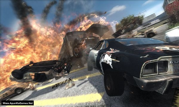 FlatOut: Ultimate Carnage Screenshot 1, Full Version, PC Game, Download Free