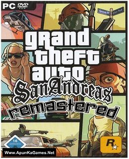 GTA San Andreas San Andreas Remastered Mod Cover, Poster, Full Version, PC Game, Download Free