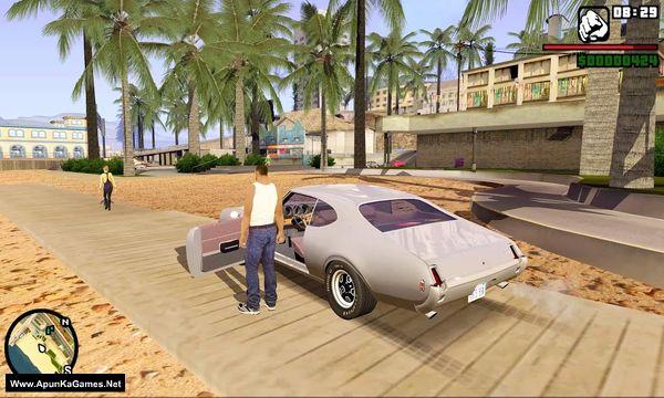 GTA San Andreas San Andreas Remastered Mod Screenshot 1, Full Version, PC Game, Download Free