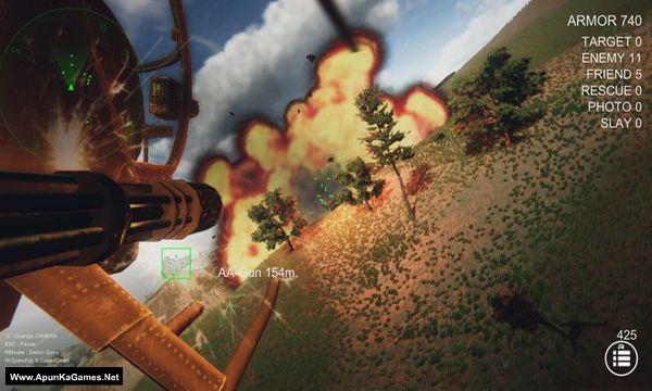 Gunship Recon Screenshot 2, Full Version, PC Game, Download Free