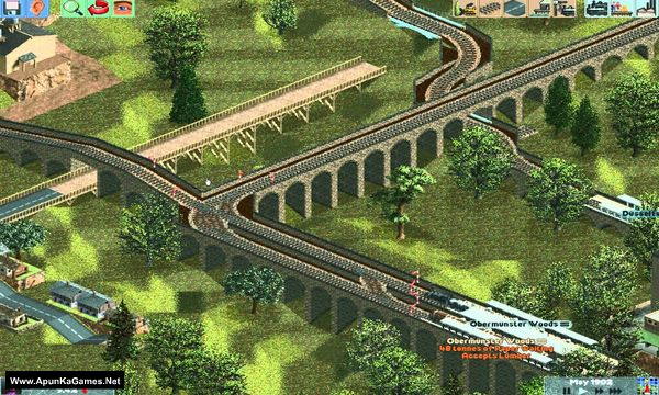 Chris Sawyer's Locomotion Screenshot 1, Full Version, PC Game, Download Free
