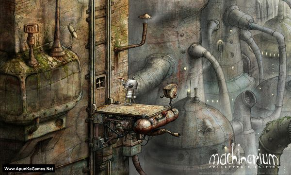Machinarium Collector's Edition Screenshot 1, Full Version, PC Game, Download Free