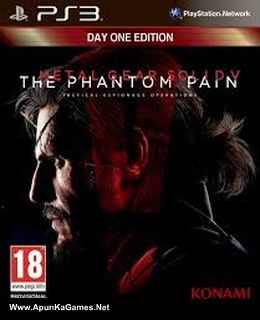Metal Gear Solid V The Phantom Pain Cover, Poster, Full Version, PC Game, Download Free