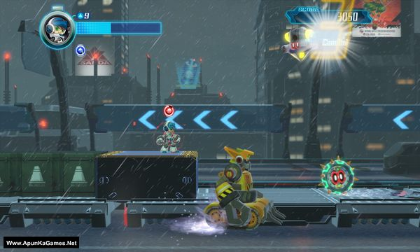 Mighty No. 9 Screenshot 1, Full Version, PC Game, Download Free