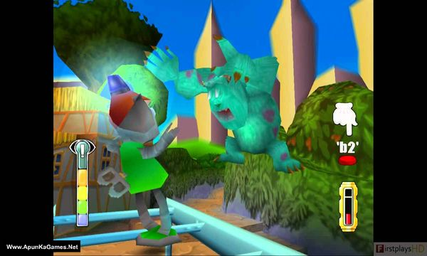 Monsters inc:Scare island. Screenshot 1, Full Version, PC Game, Download Free