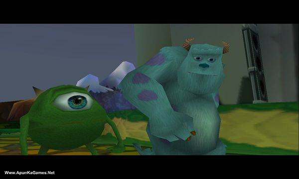 Monsters inc:Scare island. Screenshot 2, Full Version, PC Game, Download Free