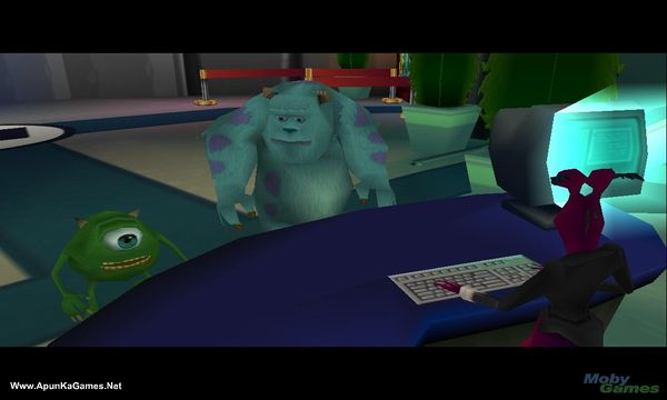 Monsters inc:Scare island. Screenshot 3, Full Version, PC Game, Download Free