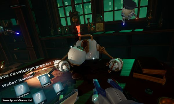 Mr.Hack Jack: Robot Detective Screenshot 2, Full Version, PC Game, Download Free