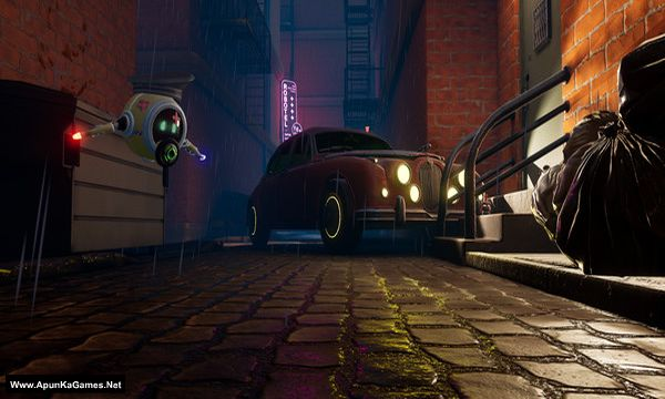 Mr.Hack Jack: Robot Detective Screenshot 3, Full Version, PC Game, Download Free