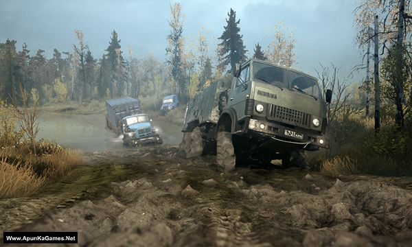 MudRunner Old Timers Screenshot 1, Full Version, PC Game, Download Free
