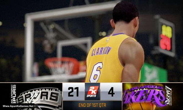 NBA 2K15 Screenshot 2, Full Version, PC Game, Download Free