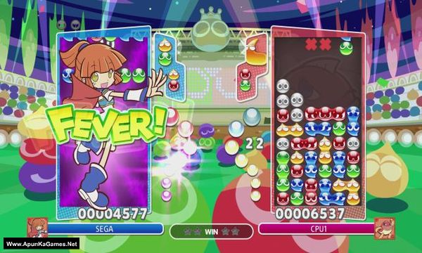 Puyo Puyo Champions Screenshot 1, Full Version, PC Game, Download Free