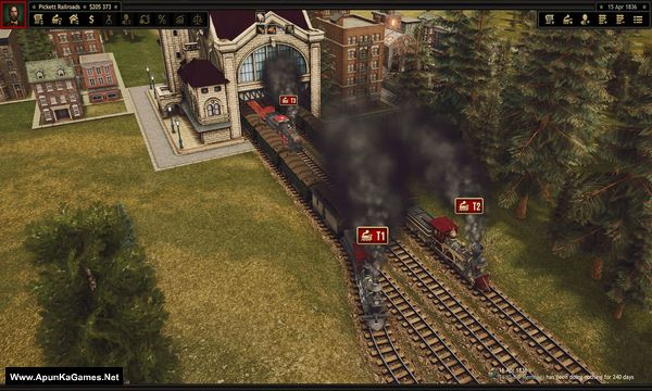 Railroad Corporation Screenshot 1, Full Version, PC Game, Download Free