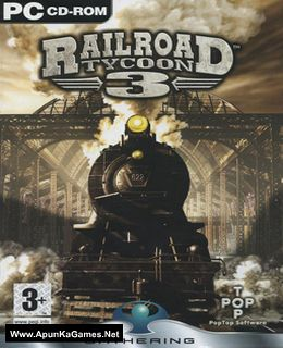 Railroad Tycoon 3 Cover, Poster, Full Version, PC Game, Download Free