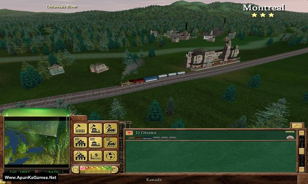 Railroad Tycoon 3 Screenshot 2, Full Version, PC Game, Download Free