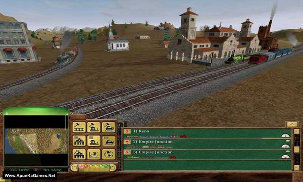Railroad Tycoon 3 Screenshot 3, Full Version, PC Game, Download Free