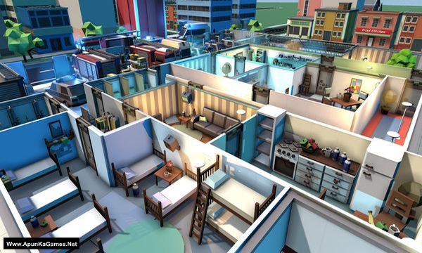 Rescue HQ - The Tycoon Screenshot 1, Full Version, PC Game, Download Free