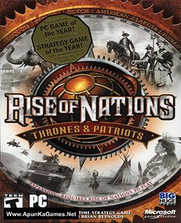 Rise of Nations: Thrones and Patriots Cover, Poster, Full Version, PC Game, Download Free