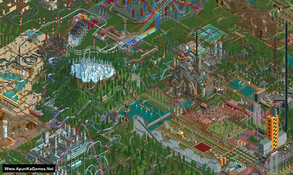 RollerCoaster Tycoon Classic Screenshot 1, Full Version, PC Game, Download Free