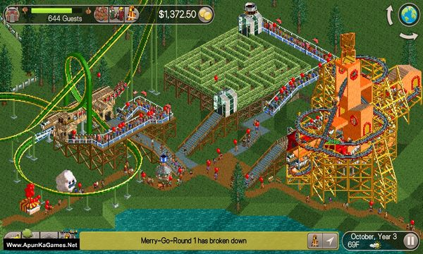 RollerCoaster Tycoon Classic Screenshot 3, Full Version, PC Game, Download Free