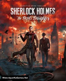 Sherlock Holmes: The Devil's Daughter Cover, Poster, Full Version, PC Game, Download Free