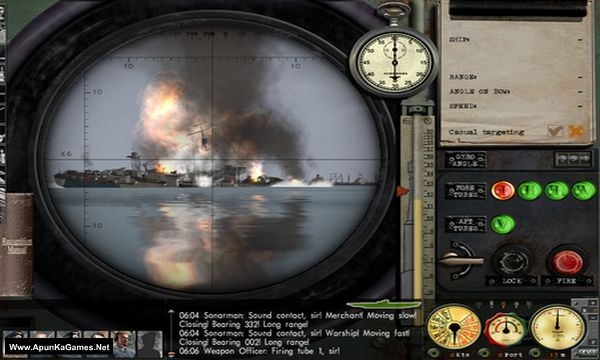 Silent Hunter III Screenshot 2, Full Version, PC Game, Download Free