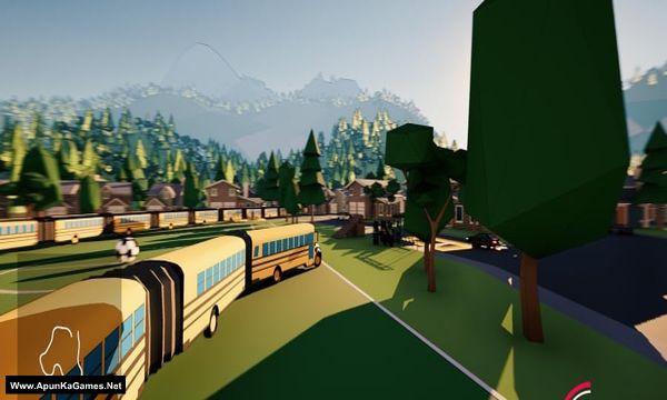 Snakeybus Screenshot 1, Full Version, PC Game, Download Free