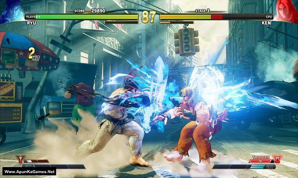Street Fighter V Screenshot 1, Full Version, PC Game, Download Free