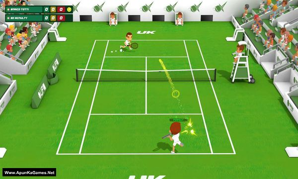 Super Tennis Blast Screenshot 2, Full Version, PC Game, Download Free