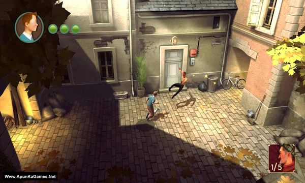 The Adventures of Tintin: The Secret of the Unicorn Screenshot 1, Full Version, PC Game, Download Free