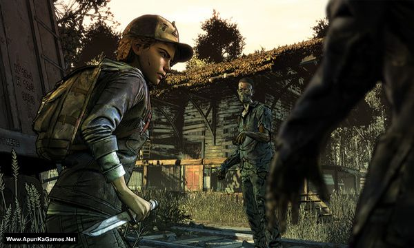The Walking Dead: The Final Season (Episode 1-4) Screenshot 1, Full Version, PC Game, Download Free