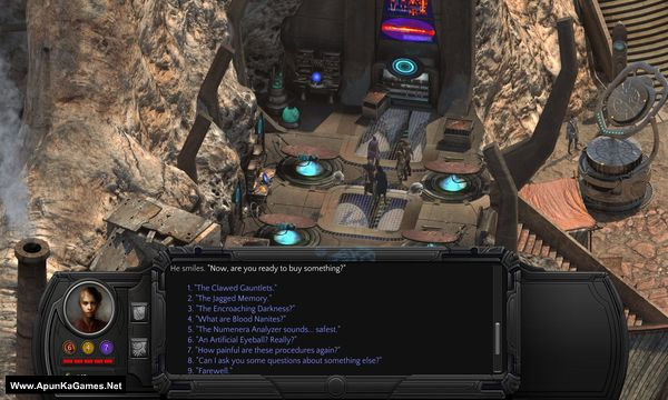 Torment: Tides of Numenera Screenshot 1, Full Version, PC Game, Download Free