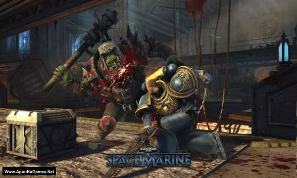 Warhammer 40,000: Space Marine Screenshot 1, Full Version, PC Game, Download Free